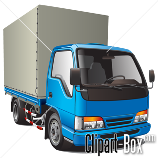 CLIPART DELIVERY TRUCK