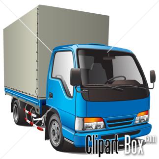 CLIPART DELIVERY TRUCK-CLIPART DELIVERY TRUCK-12