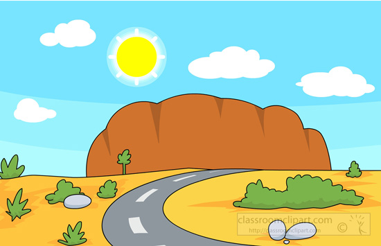 -clipart Desert Biome With .--clipart desert biome with .-4