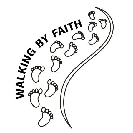 Clipart Design Ideas Clipart Religious Walking By Faith