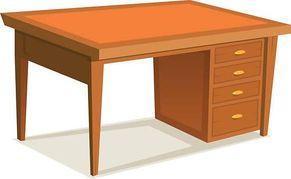 clipart desk