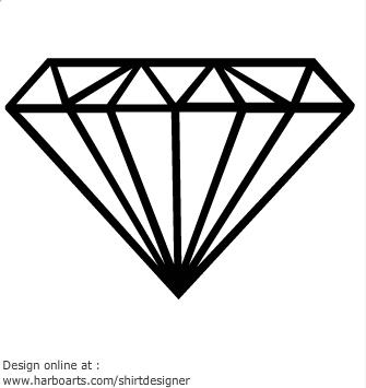 clipart diamond