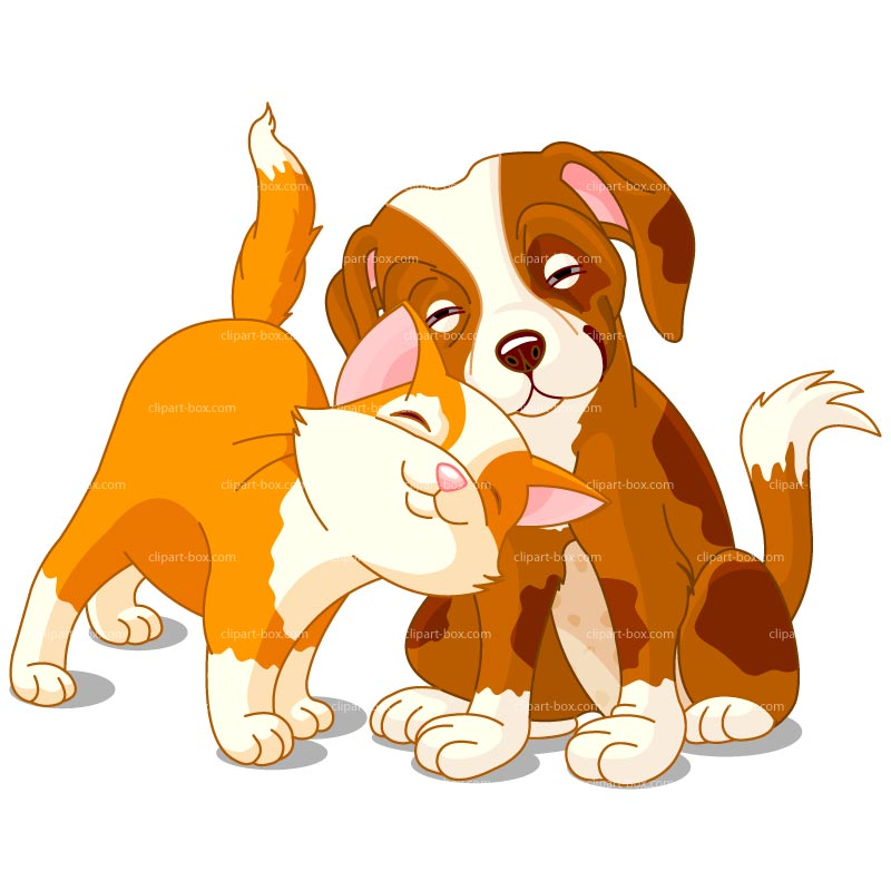 Clipart Dog And Cat Royalty Free Vector Design