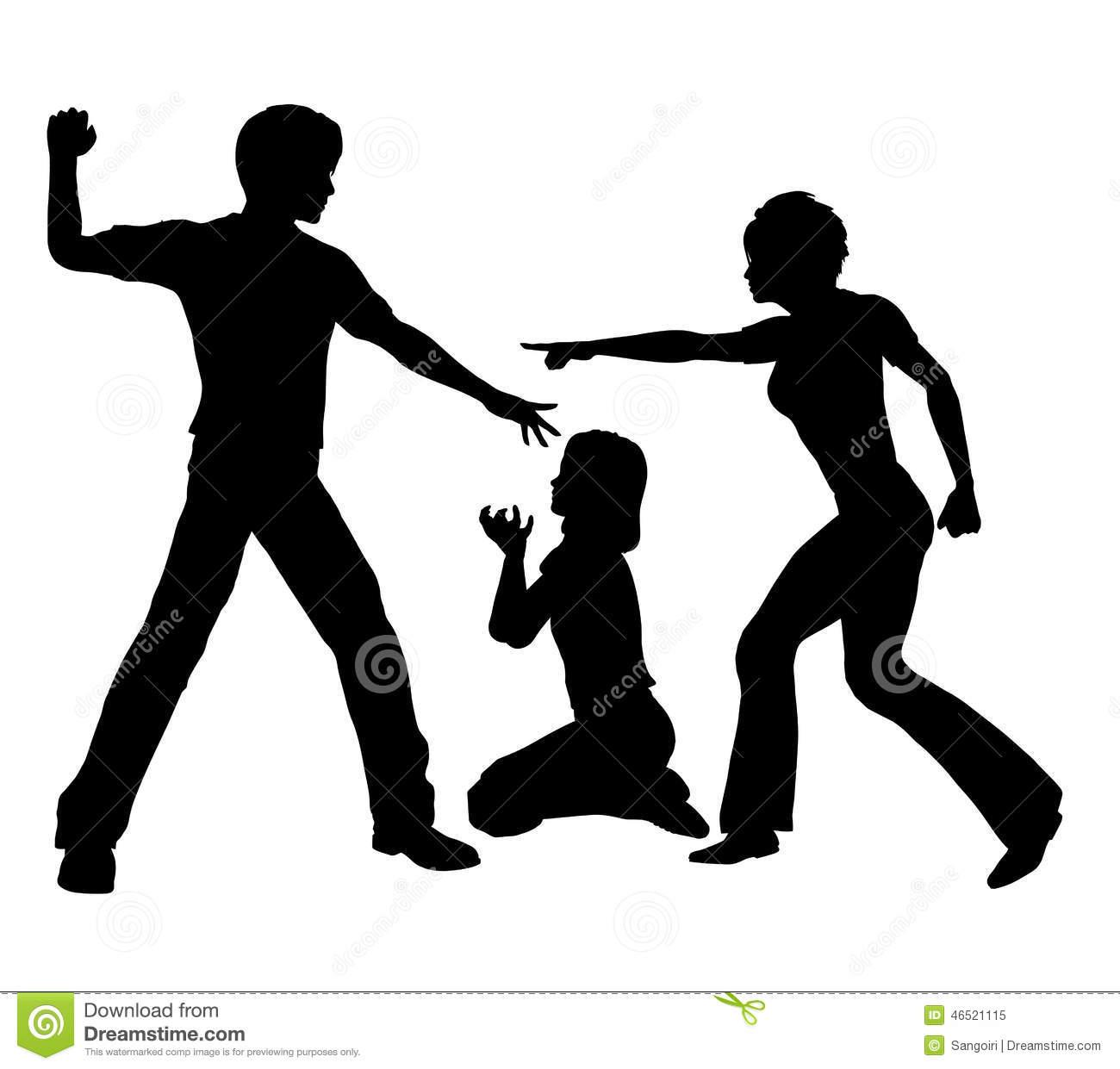 Clipart domestic violence - .