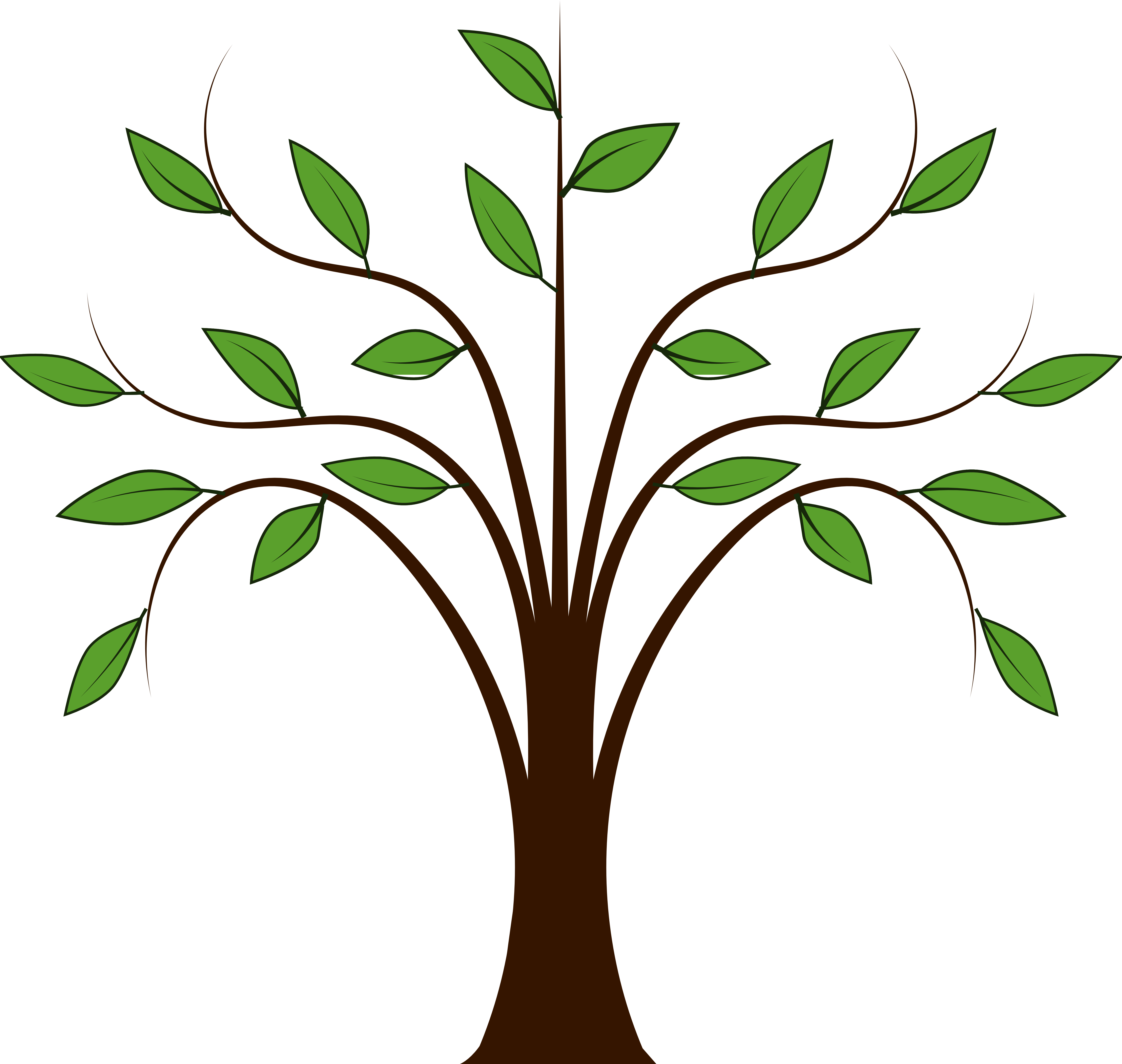 Clip Art Of Trees