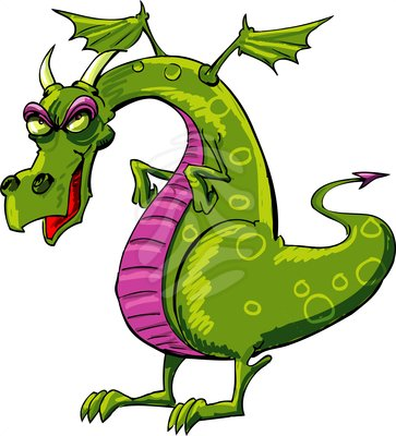 clipart dragon