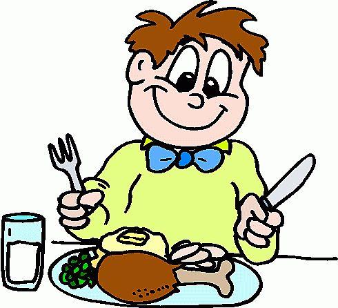 clipart eating breakfast-clipart eating breakfast-17