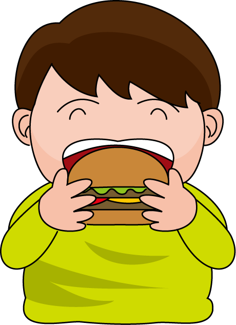 clipart eating