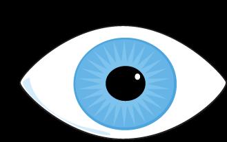 Clipart Eyes - Blue Eyes Clipart
