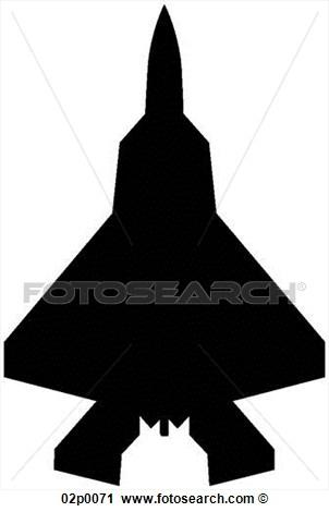 Clipart F 22 Top Icon Fotosearch Search Clip Art Illustration