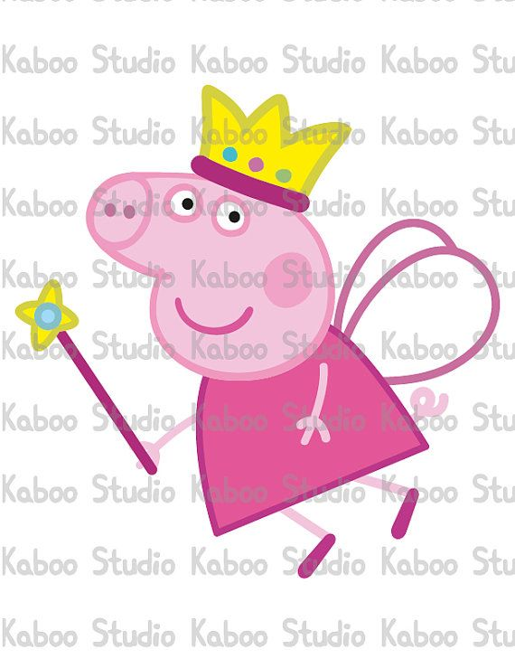 Clipart Fairy Peppa Pig by .-Clipart Fairy Peppa Pig by .-10