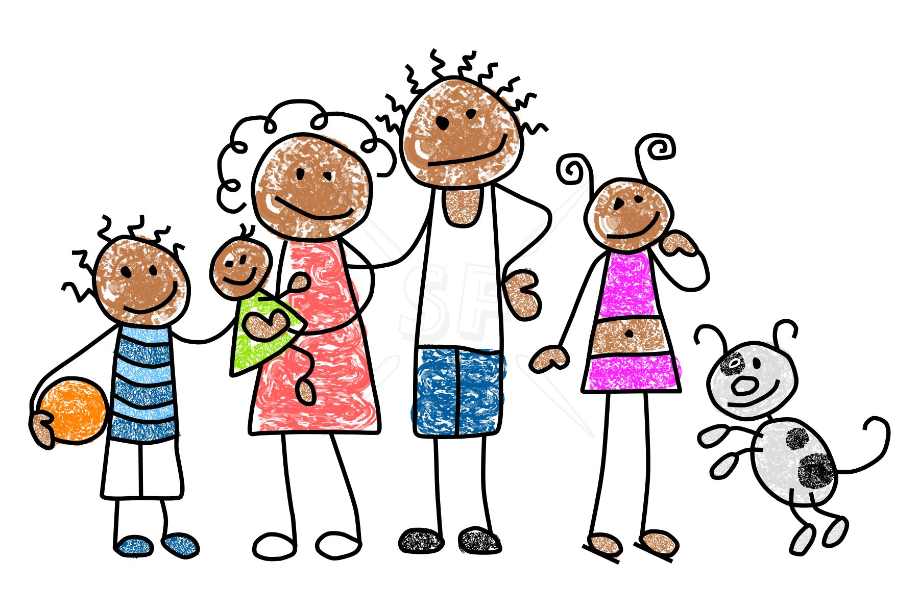 Clipart Family Members-Clipart Family Members-3