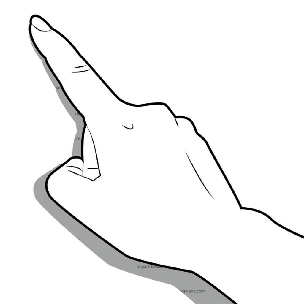 ... clipart finger clipart finger clip art middle finger clipartsco .