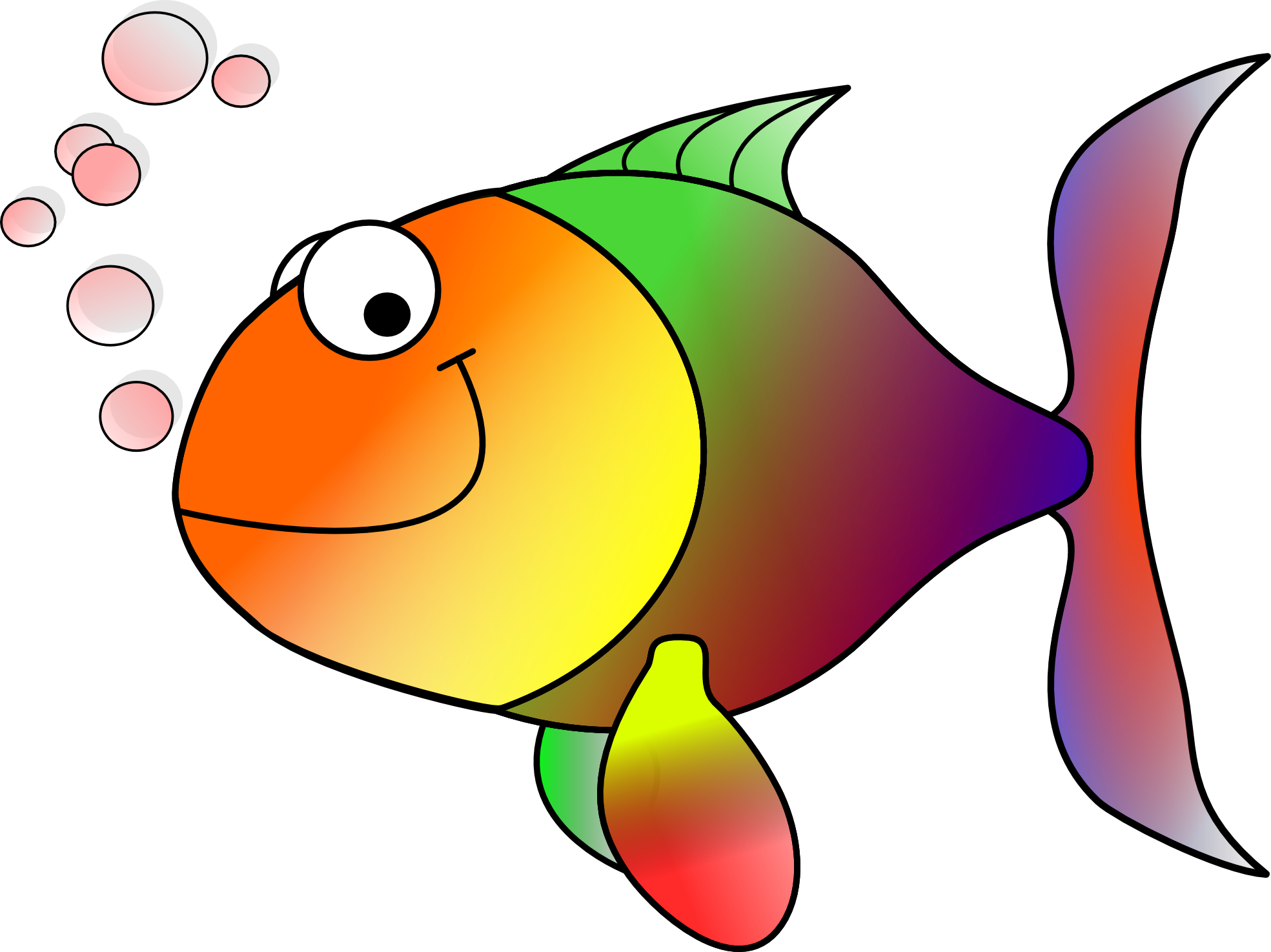 Clip Art Fishing
