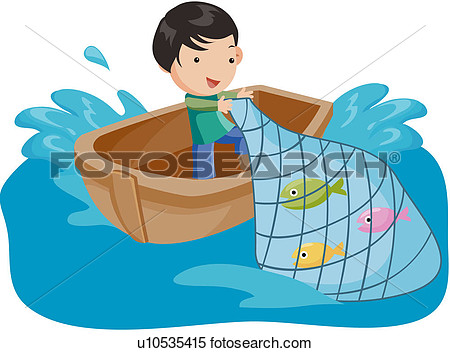 Clipart - fisherman, fishing .