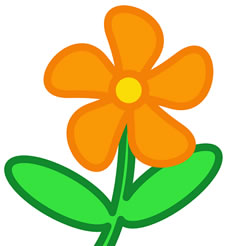 clipart flower - Clip Art Of Flowers
