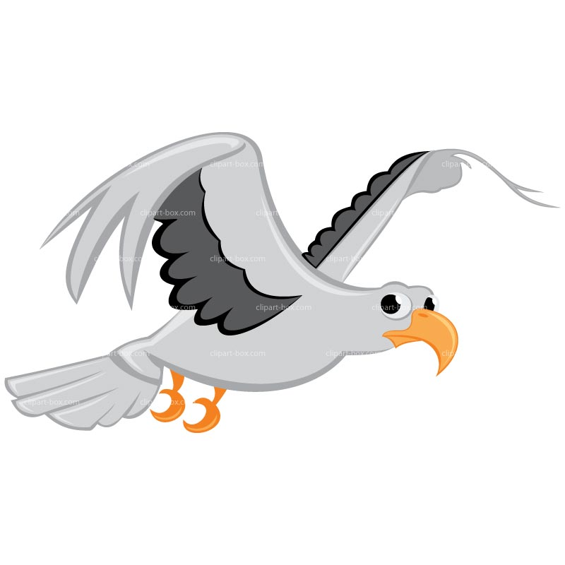 Clipart Flying Seagull Royalty Free Vect-Clipart Flying Seagull Royalty Free Vector Design-4