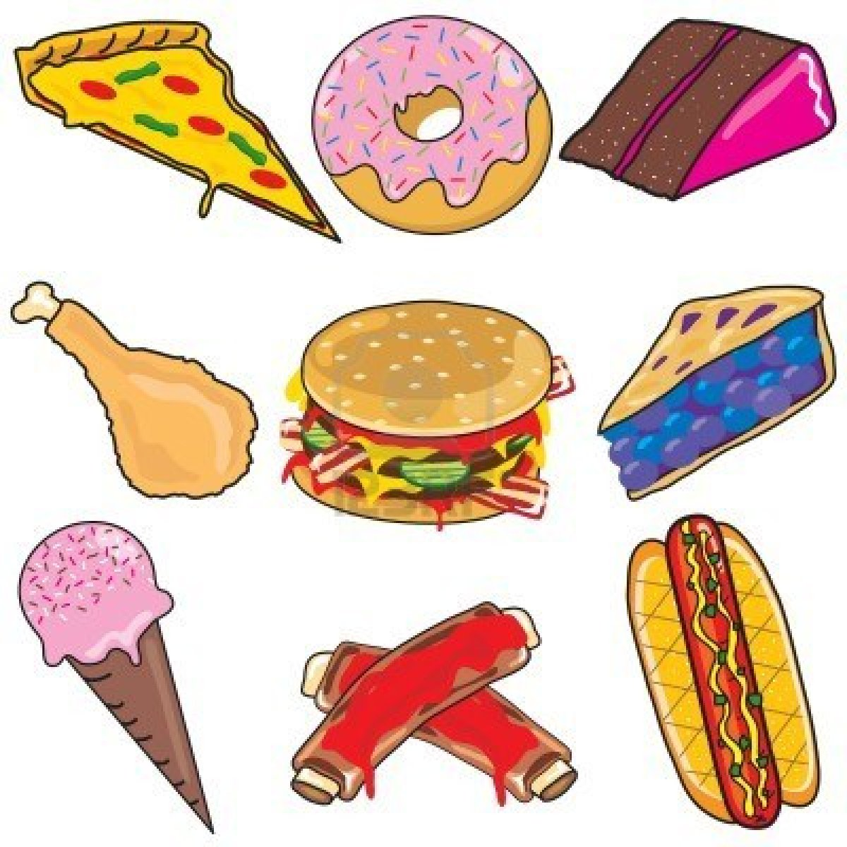 ... Clipart food - ClipartFox - Free Clipart Food
