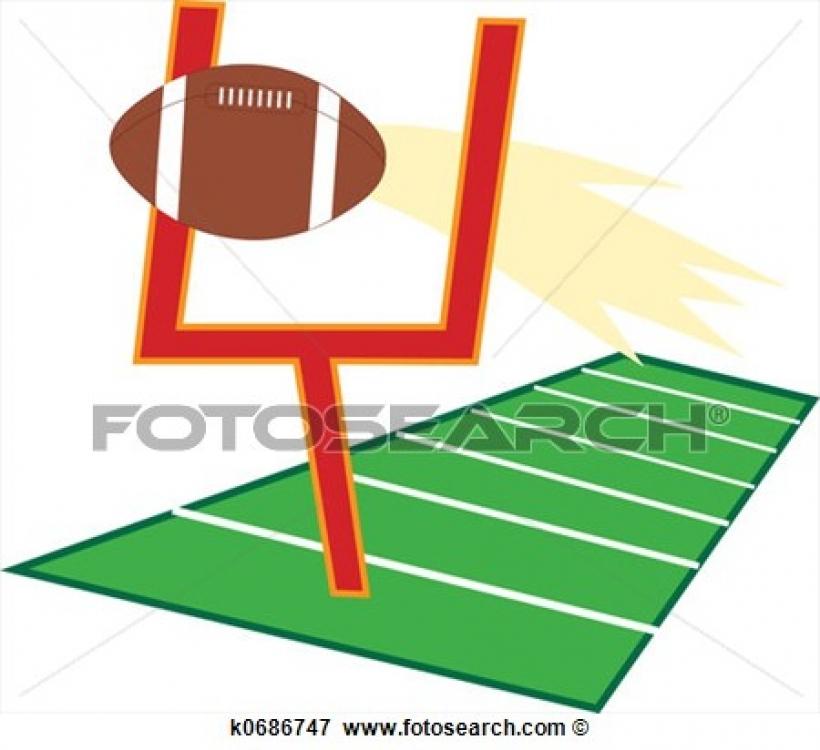 clipart football field clipart football field football field goal kick clipart panda free clipart images 450 X 412