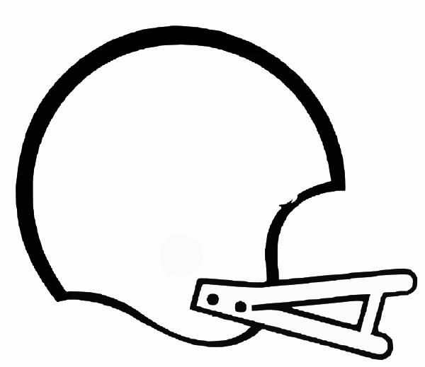 Clipart Football Helmet Black And White -Clipart Football Helmet Black And White Free-9