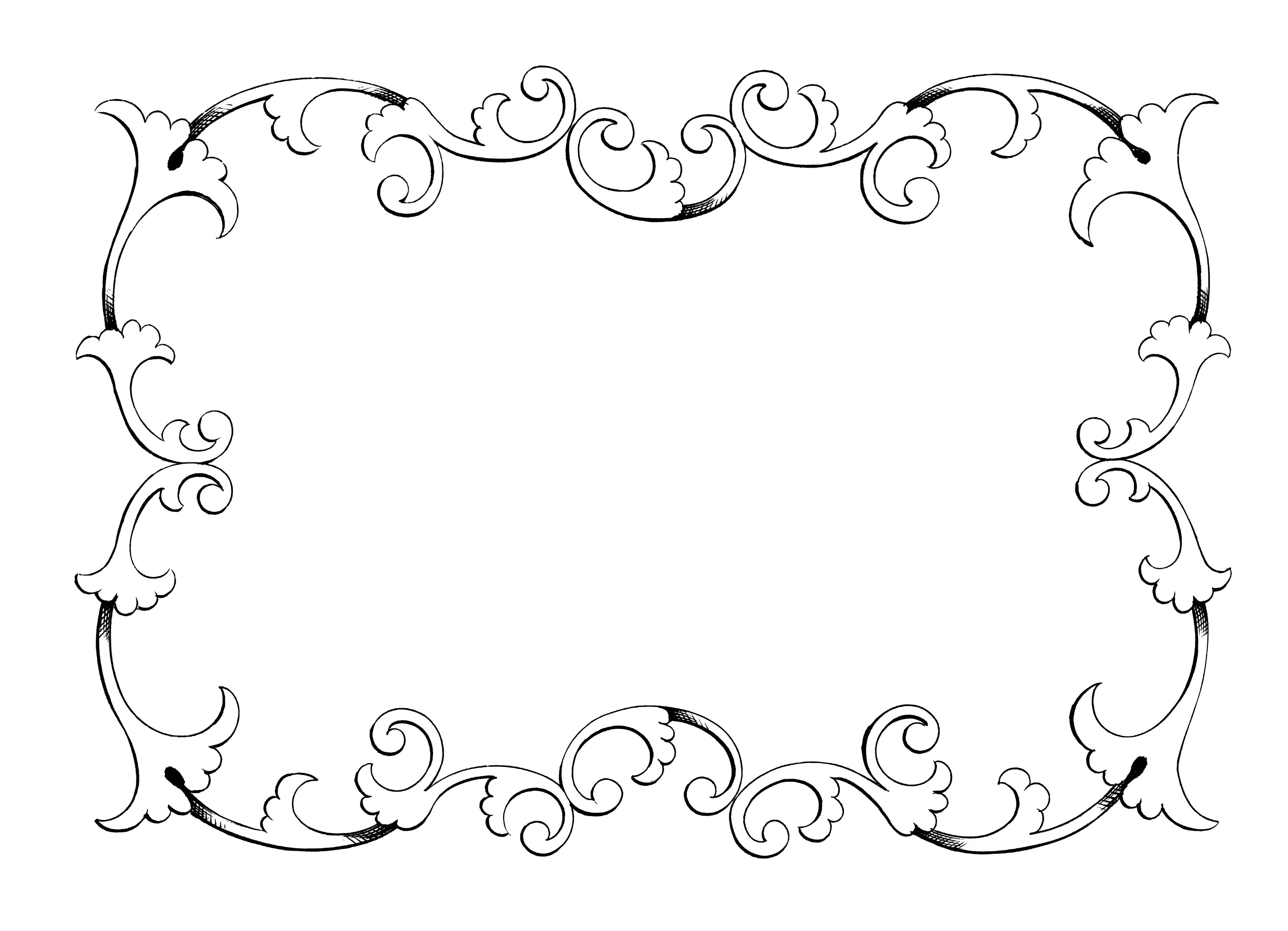 Clipart frames free caicdvrlistscom 3