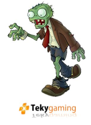 Clipart Free Zombie Faces | Plants Vs Zo-clipart free zombie faces | Plants Vs Zombies - Render 1 by ~teky-gaming-2
