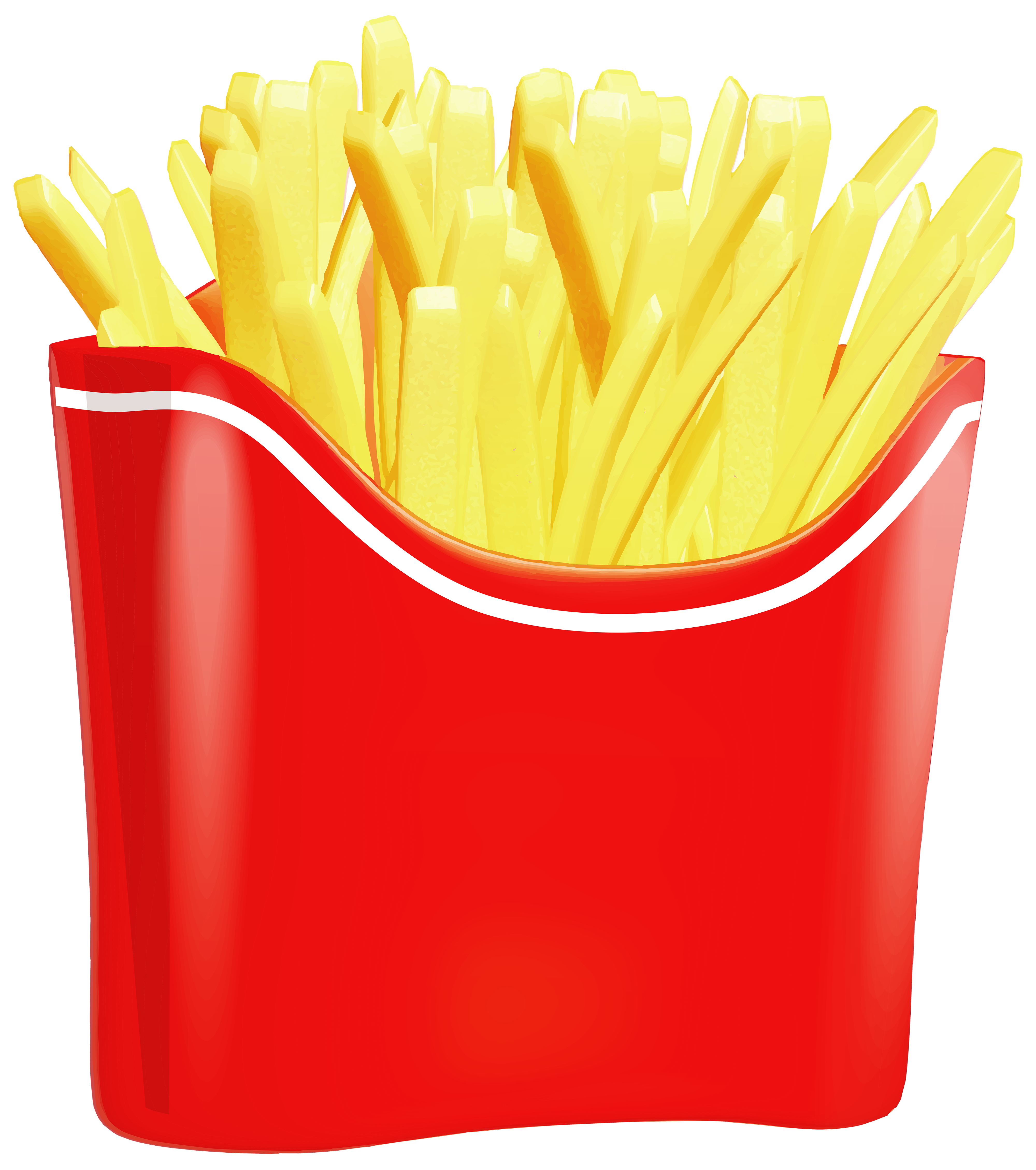 Clipart french fries - ClipartFest