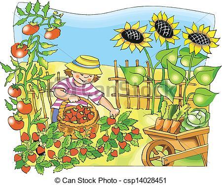 clipart garden