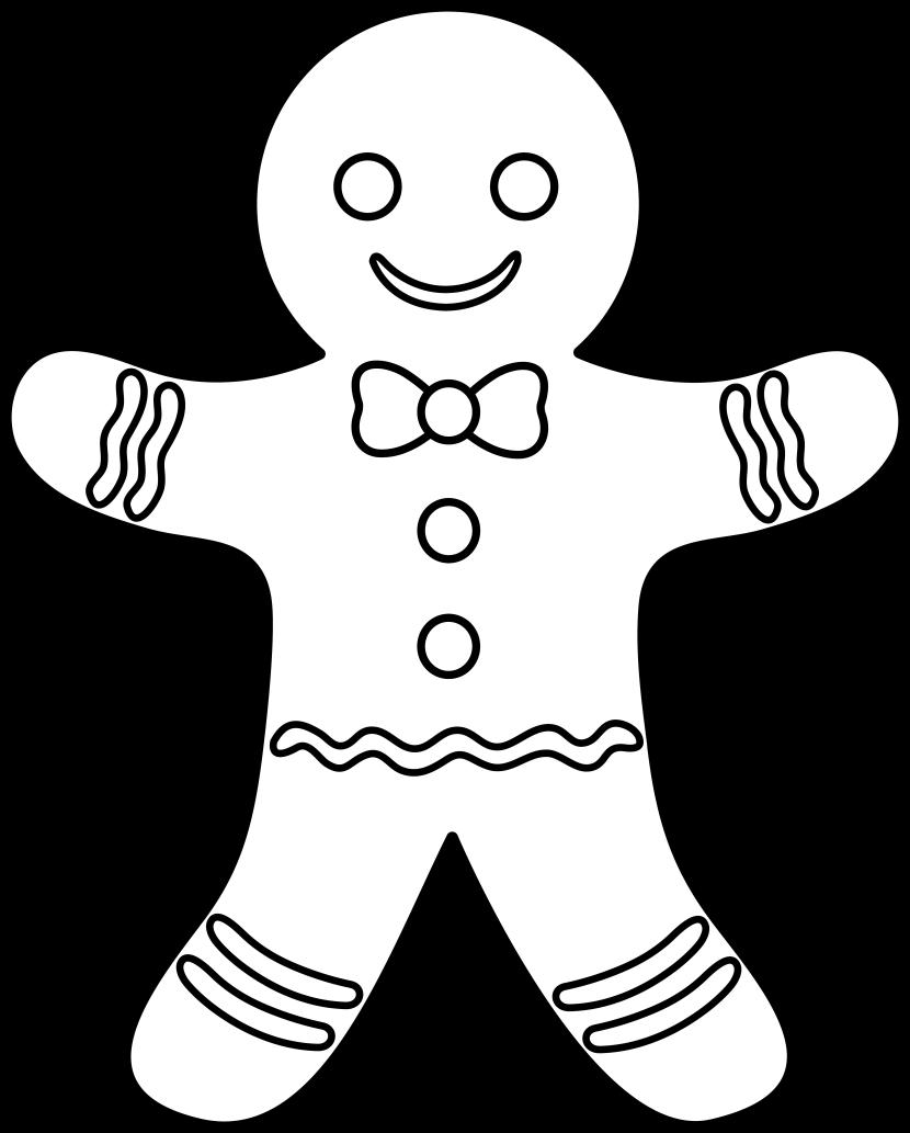 Clipart Gingerbread Man-clipart gingerbread man-1