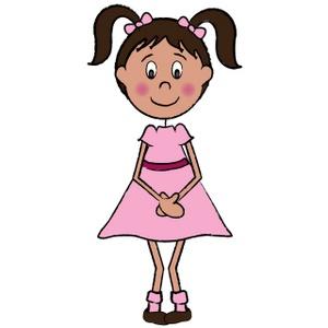 clipart girl-clipart girl-1