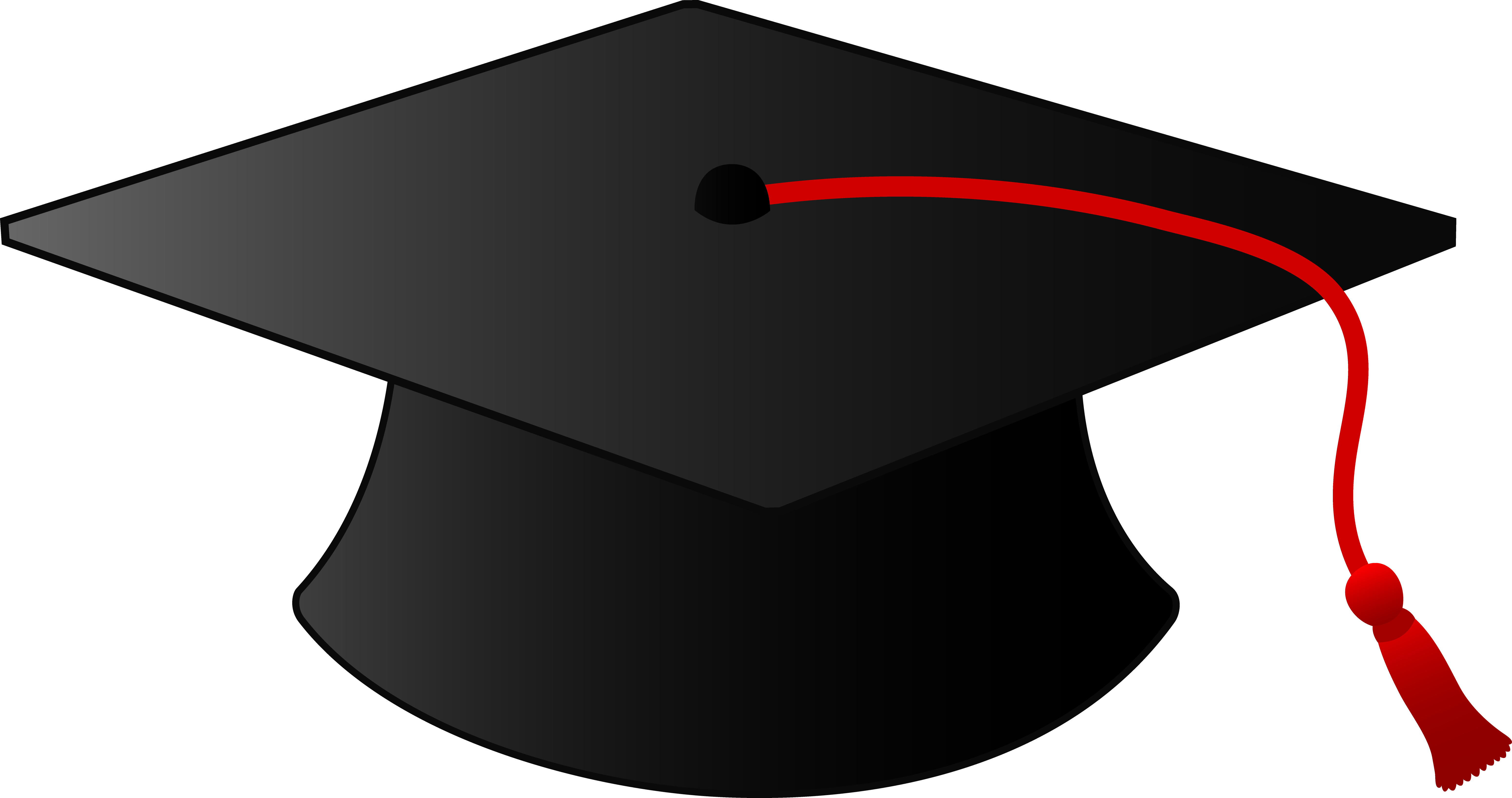 Clipart graduation hat - .