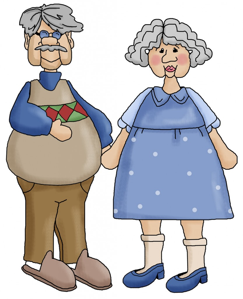 clipart grandparents