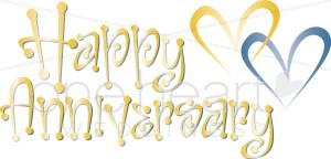 Clipart Gray Anniversary Clipart Happy Silver Anniversary Clipart