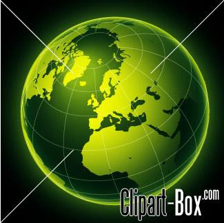 CLIPART GREEN GLOBE-CLIPART GREEN GLOBE-1