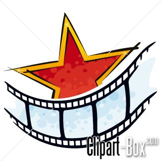 CLIPART GRUNGE MOVIE STAR