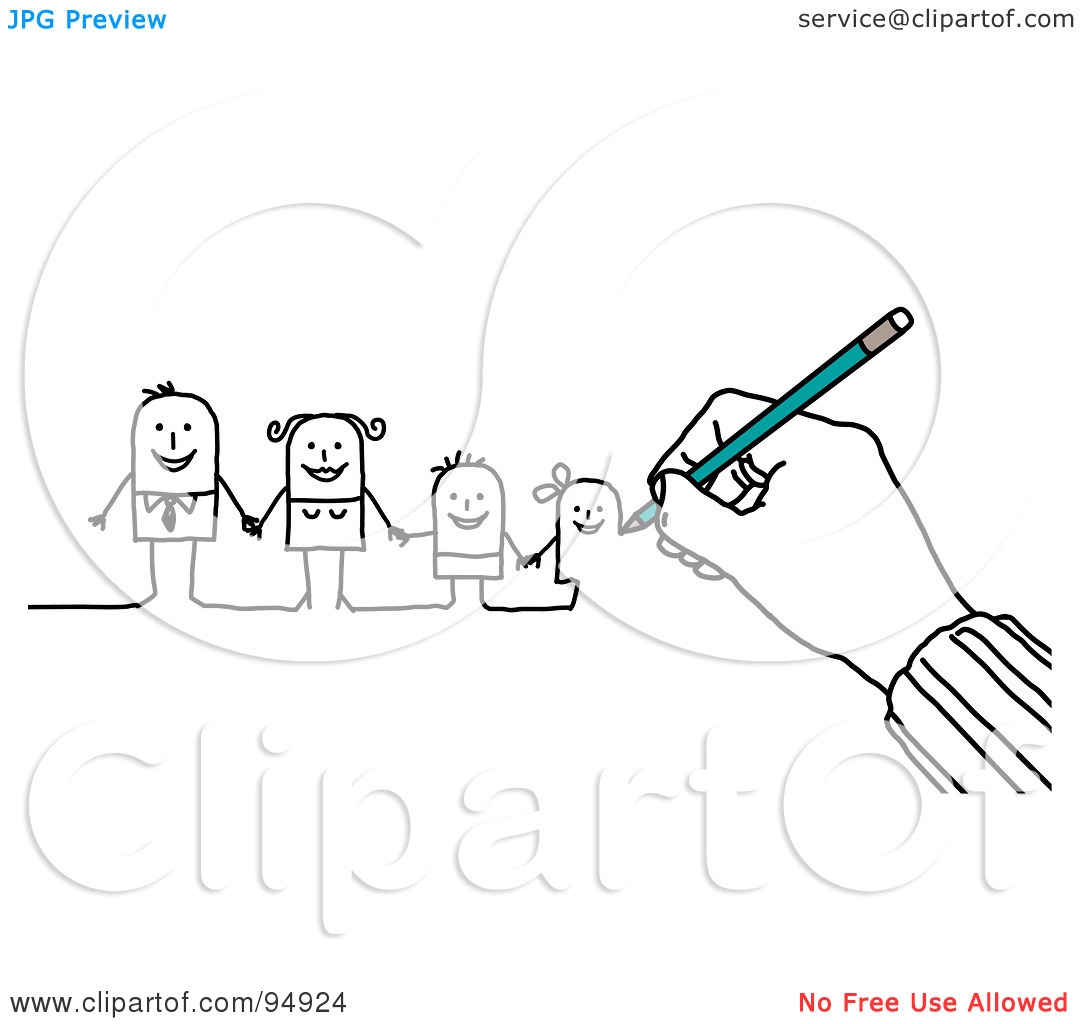 Clipart Hand Drawing-clipart hand drawing-6