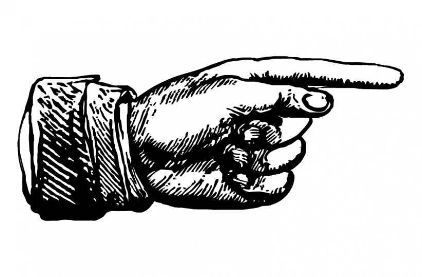 clipart hand pointing finger .-clipart hand pointing finger .-5