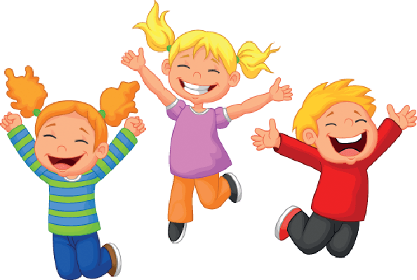 Clipart happy kids transparent - ClipartFest