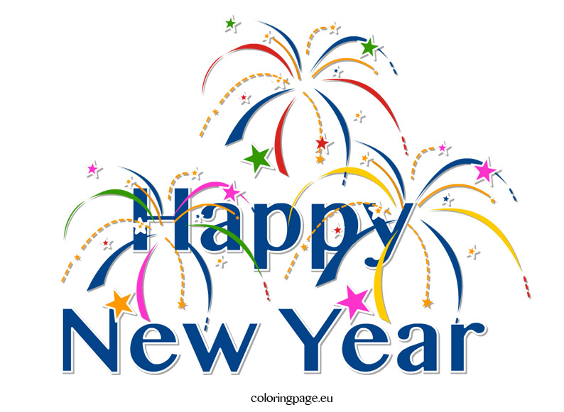 Clipart Happy New Year
