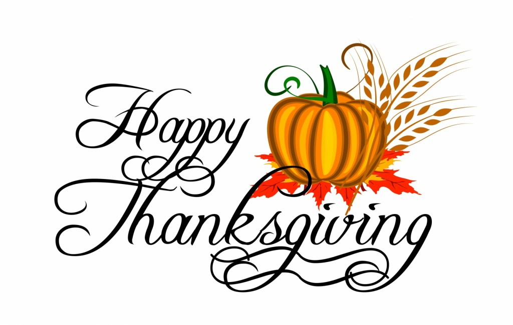 Clipart Happy Thanksgiving