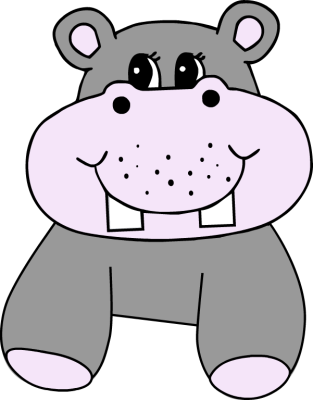 Clipart hippo clipart 2 image