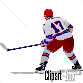 CLIPART HOCKEY PLAYER-CLIPART HOCKEY PLAYER-15