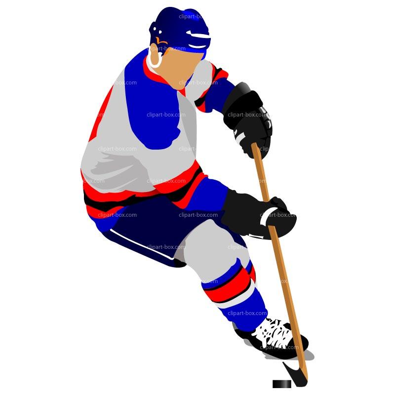 Clipart Hockey Player Royalty Free Vecto-Clipart Hockey Player Royalty Free Vector Design-3