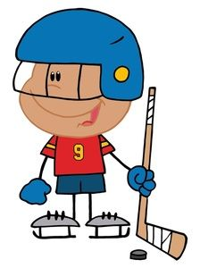 Clipart Hockey, Sports Clipart, Drawings Clipart, Clipart Illustrations,  Royalty Free Clipart, Free Clipart Images, Playing Hockey, Kid Playing, Art  Sport