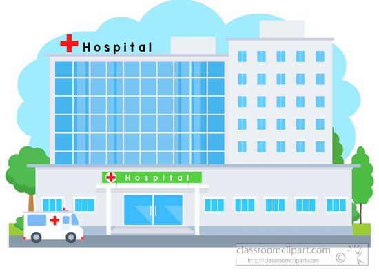 clipart hospital