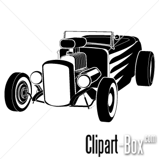 CLIPART HOT ROD ICON