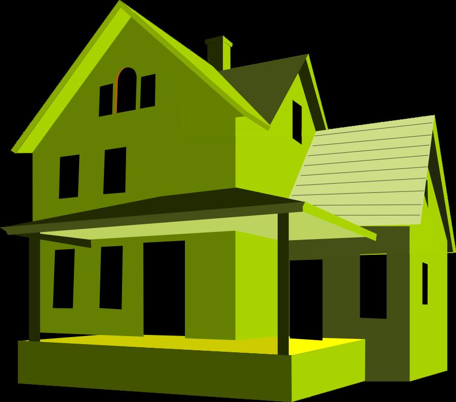 Clipart House - clipartall - Clip Art Of House