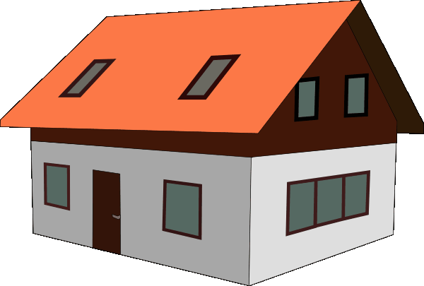 Clipart House Images #125