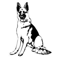 German Shepherd Clip Art