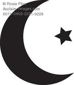 Clipart Illustration Of An Islamic Relig-Clipart Illustration of an Islamic Religious Symbol-5